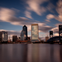 500px / Photo Jacksonville, Florida Skyline by Michael Noirot
