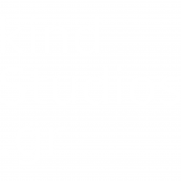 Image: Kind studios URL quadratic transparent (English)